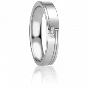 Alliance Olympe Argent et Diamants - Breuning
