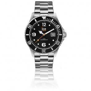 Montre ICE Steel Black Silver Large 016032