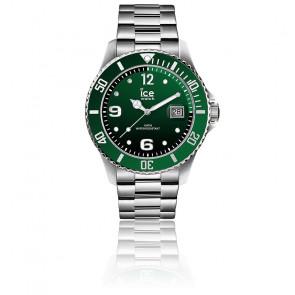 Montre ICE Steel Green Silver Medium 016544M