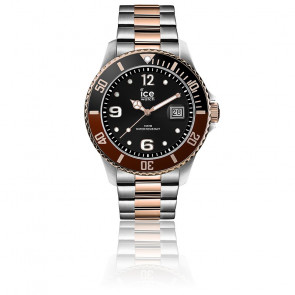 Montre ICE Steel Chic Silver Rose-Gold Medium 016546M