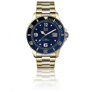 Montre ICE Steel Gold Blue Medium  016761M
