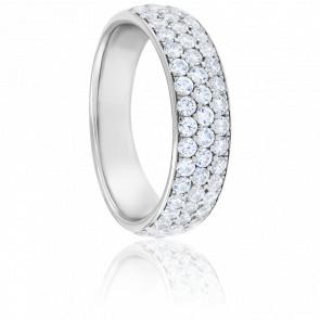 Alliance Luzia Diamants & Or Blanc 18K