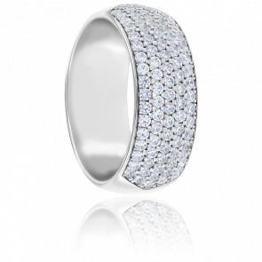 Alliance Alaina Diamants & Or Blanc 18K
