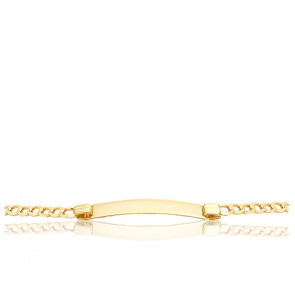 Gourmette Maille Gourmette, 4,6 mm, Or Jaune 9K