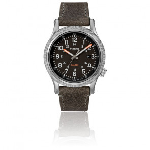 Montre Allied LT Gray Leather Black Dial TW2T33200