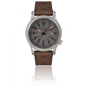 Montre Allied LT Brown Leather Grey Dial TW2T33300