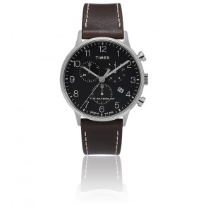 Montre Waterbury Classic Men's Chrono Black Dial TW2T28200