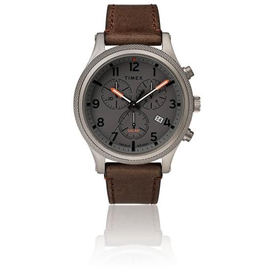 Montre Allied LT Chronograph 42mm Leather Strap TW2T32800