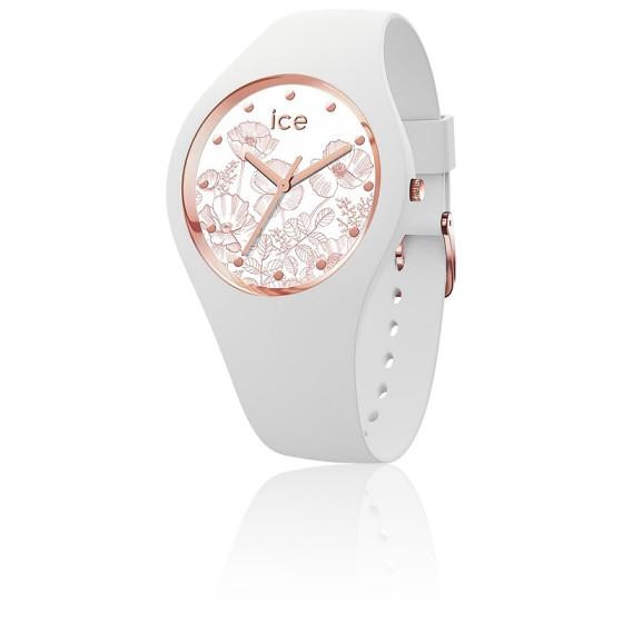 84a1634bf4ba8 Montre ICE Flower Spring White Medium 016669M - Ice Watch - Ocarat
