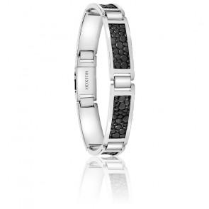 Bracelet Scott Cuir & Argent