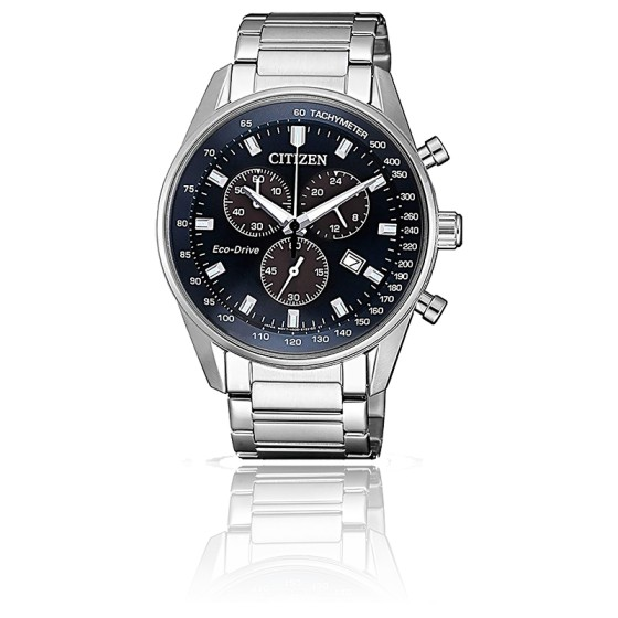 Montre Chrono Eco-Drive Solaire AT2390-82L