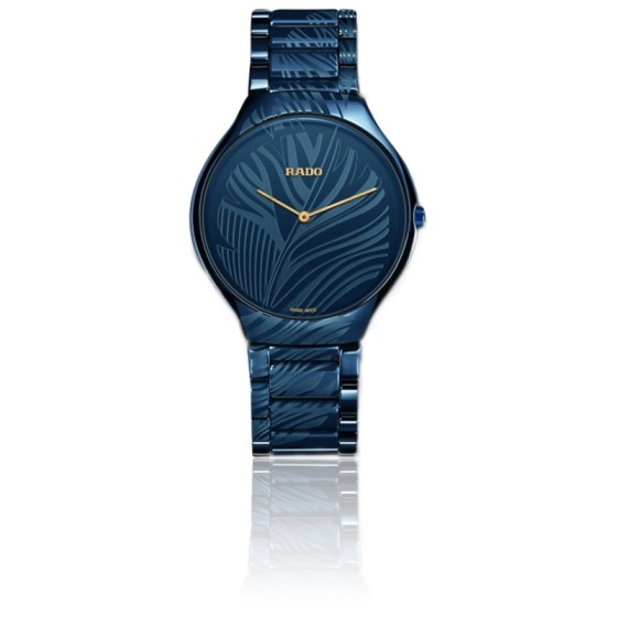 Montre True Thin Line L Bleu Quartz 01.420.0014.3.015