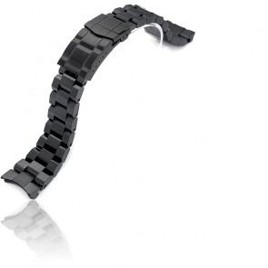 Bracelet 22mm Hexad Oyster Submariner PVD Black SS221805BBK066