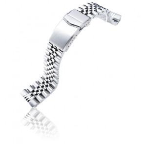 Bracelet Super 3D Jubilee Acier Inoxydable 22mm SRP777 SS221820B046