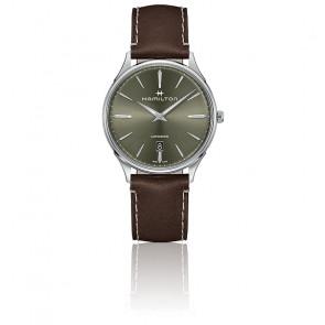 Montre Jazzmaster Thinline Green Dial H38525561