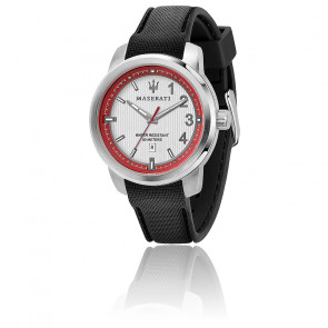 Montre Royale 45mm 3H Silver Dial Black ST R8851137004