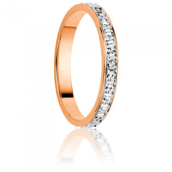 Alliance Sicuani Or Rose & Or Blanc 18K