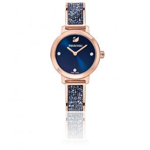 Montre Cosmic Rock Bleu Or Rose 5466209