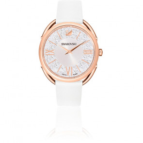 Montre Crystalline Glam Blanche Or Rose 5452459