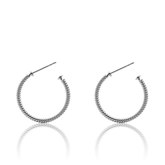 2x Boucles D/'oreilles Accessoires de Femme Fille en Acier Inoxydable Confortable