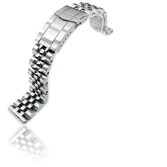 Seiko 22MM Plongeurs Jubilée Acier Inoxydable Bracelet Montre Bracelet,Droit