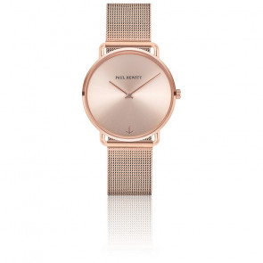 Montre Miss Ocean Line Or Rosé PH-M-R-RS-4S