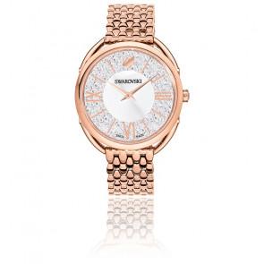 Montre Crystalline Glam Bracelet Métal Blanc Or Rose 5452465