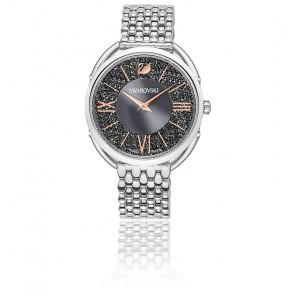 Montre Crystalline Glam Bracelet Métal Gris Ton Argenté 5452468