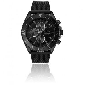 Montre Ocean Edition Chronographe Homme Silicone Noir 1513699
