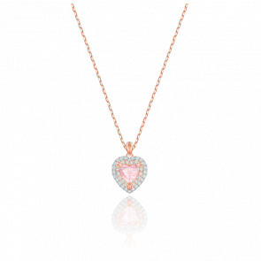 Collier One Multicolore & Plaqué Or Rose