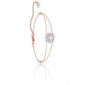 Bracelet Sunshine Blanc & Plaqué Or Rose