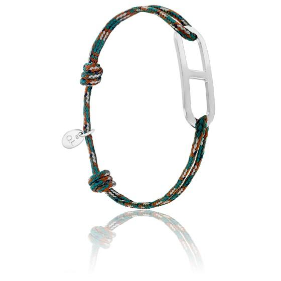 Bracelet gaby GM armée & argent