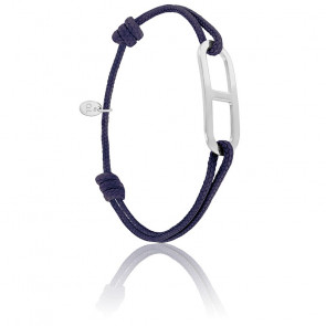 Bracelet gaby GM encre & argent