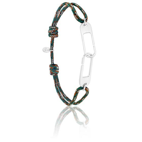 Bracelet osmose XL armée & argent