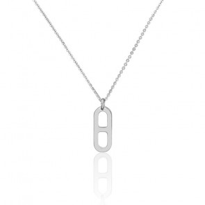 Collier gaby PM argent