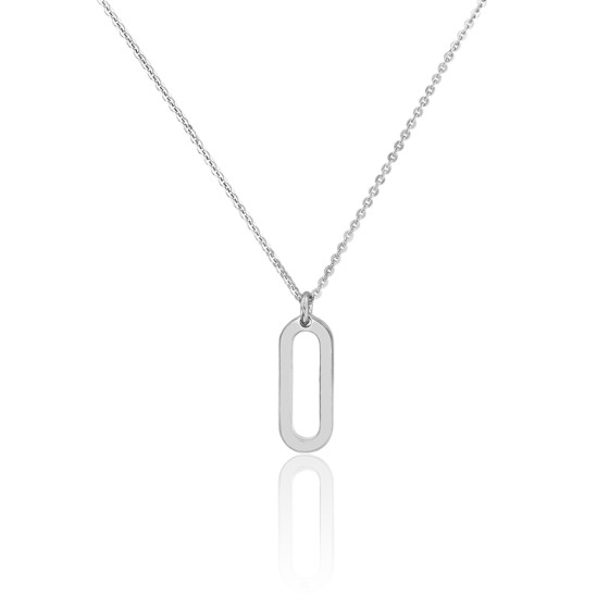 Collier figaro PM argent