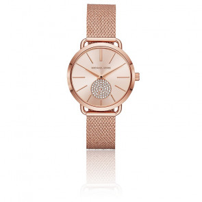 Montre Portia Or Rose MK3845