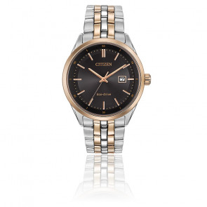 Montre Eco-drive Corso Black/Gold BM7256-50E