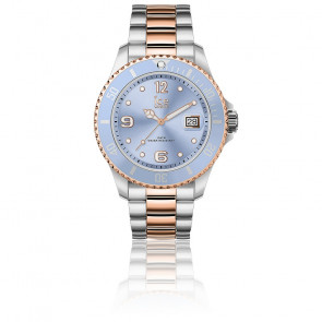Montre ICE Steel Sky Silver Rose-Gold Medium 016770M