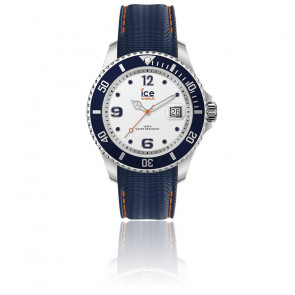 93f3d28bca Montre ICE Steel Silver Sunset Rose 016769M - Ice Watch - Ocarat