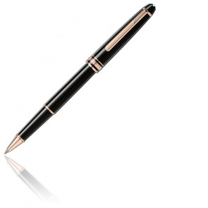Stylo Rollerball Meisterstück Classique Doré Or Rouge 112678