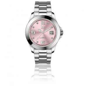 Montre ICE Steel Light Pink Stones 016776M