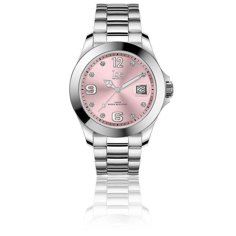 Montre ICE Steel Light Pink Stones 016776M