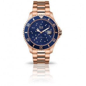 Montre ICE Steel Blue Cosmos Rose-Gold 016774M