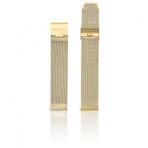 Bracelet Maille Milanaise Or Jaune MB18.PVDYG.ST