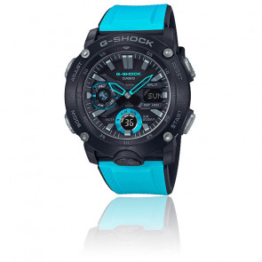 Montre G-Shock Series-Carbon Core Guard Bleu GA-2000-1A2ER