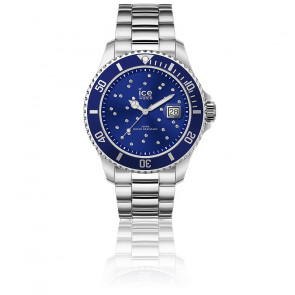 Montre Ice Steel Blue Cosmos Silver 016773
