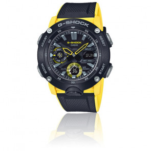 Montre G-Shock Series-Carbon Core Guard Jaune GA-2000-1A9ER