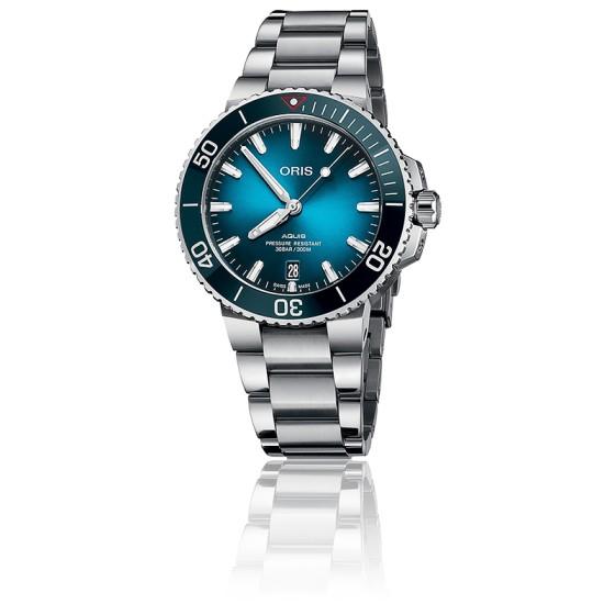 01 Ocarat Montre Ocean Oris 733 4185 Set Aquis Clean 7732 7vY6gbyIf