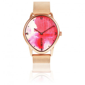 Montre N°1 Pink Brush